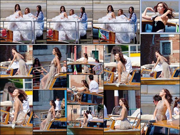 - ''29.06.17'-''─''Bella Hadid était sur les lieux du photoshoot pour « ELLE China » dans la belle ville de Venise ![/s#00000ize]Depuis deux jours, Bella Hadid réalise un photoshoot pour le magazine de l'édition chinoise, qui se déroulera entièrement dans la splendide ville : Venise. -