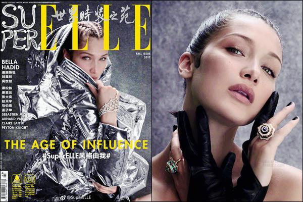 - Découvrez Bella Hadid pour « ELLE China » et son édition de l'automne 2017 !-