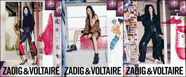 - ▬ Découvrez Bella Hadid pour la marque « Zadig & Voltaire » pour la Fashion-Week 2017 !-