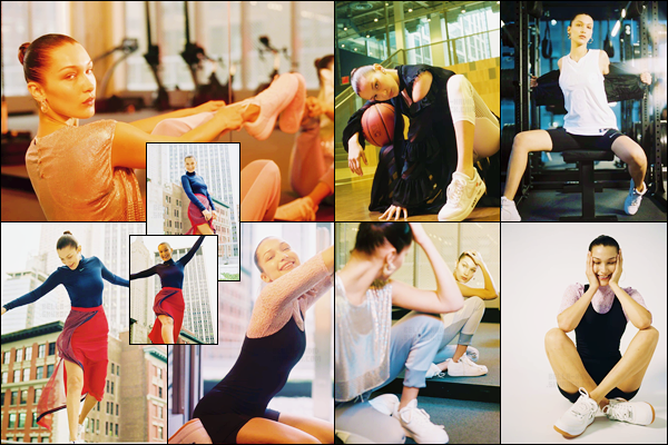 - ▬ Bella Hadid prend la pose pour le magazine « Vogue » à l'honneur des Nike Air Force 1 !-