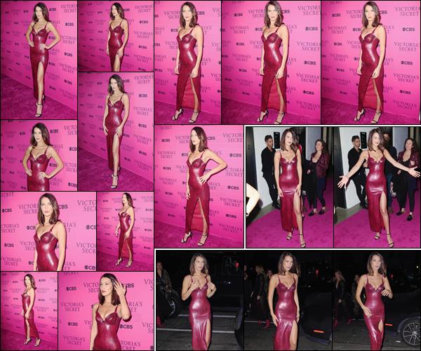 '- '- 28/11/17 -'''◊''Bella Hadid était la soirée de « Victoria's Secret Fashion-Show Viewing Party » dans New York. De retour dans la ville de New York, tout comme Hailey Baldwin, Bella nous offrait encore un tapis rose, pour l'événement de Victoria's Secret. Gros top !-
