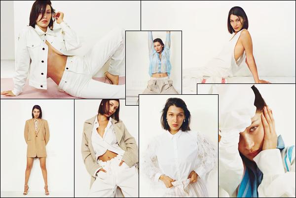 - ▬ Bella Hadid a réalisé un photoshoot pour « Vogue UK » à l'occasion du mois de janvier 2018 !-