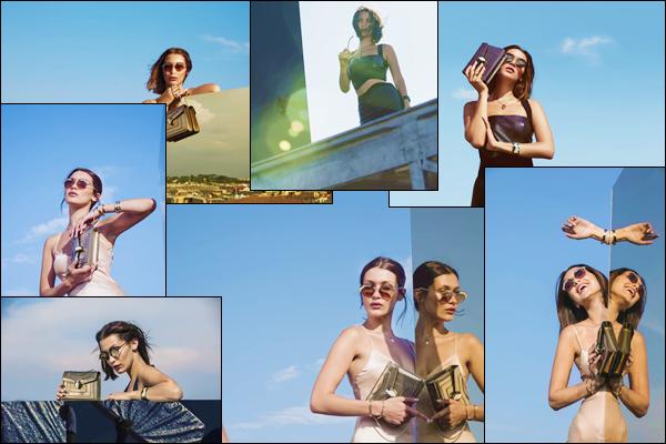 - ▬ Bella Hadid prend la pose pour la collection « Serpenteyes Eyewear » réalisée par Bulgari !-