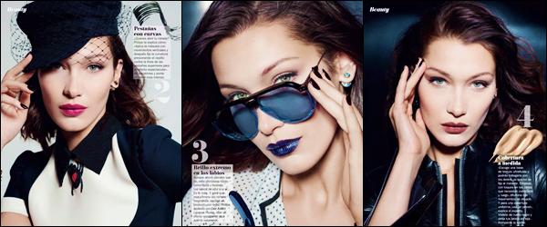 - ▬ Bella Hadid apparaît dans le magazine « Cosmopolitan Spain » pour l'édition d'avril 2018 !-