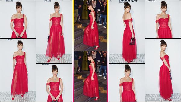 - ''•-12/05/18-' : Bella Hadid était présente lors de la soirée de « Dior x Madame Figaro », qui avait lieu à Cannes. Vêtue d'un sublime robe rouge de la marque Dior, Bella Hadid se trouvait en compagnie de son amie Winnie Harlow. Gros coup de c½ur ! -