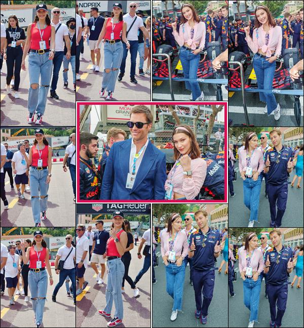 - ''•-27/05/18-' : Bella Hadid était présente lors du « Grand Prix Formule 1 », se passant dans la ville de Monaco. Présente pour représenter la marque Tag Heuer, dont elle est l'égérie, la mannequin a été photographiée en souriant lors de l'événement. Un petit top ! -