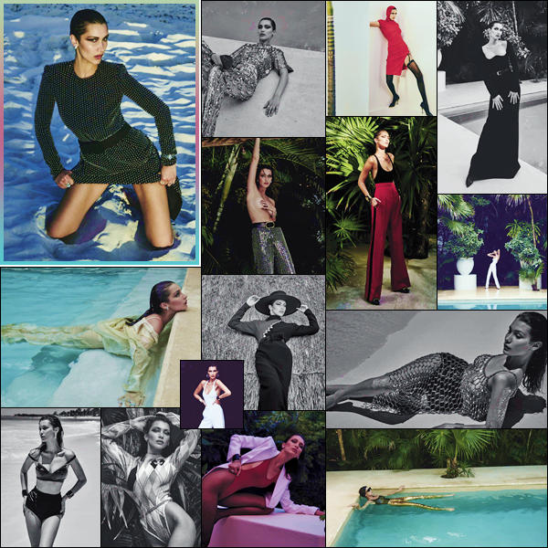 - '-PHOTOSHOOT ●- De nouveaux clichés pour le magazine « Vogue México » lors de l'édition de juillet. -