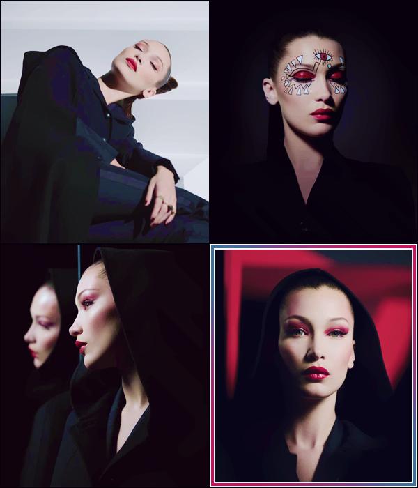 - ● Bella Hadid prend la pose pour « Dior Halloween 2018 » la nouvelle collection de cosmétique. -