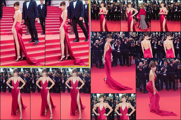 - ''•-18/05/16-' : Bella Hadid assistait à la première de « The Unknown Girl » à l'occasion du Festival de Cannes. Dans une sublime robe rouge qui a fait la polémique auprès de la presse française : jugée comme étant trop vulgaire... Donne ton avis ! -