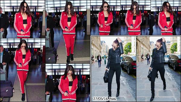 - ''•-26/05/16-' : Bella Hadid arrivait à l'aéroport international de « LAX », se trouvant dans Los Angeles, en CA. Le retour de Bella aux États-Unis aura été de courte durée, puisque celle-ci s'envole à nouveau pour la France où elle restera à Paris. Bof. -
