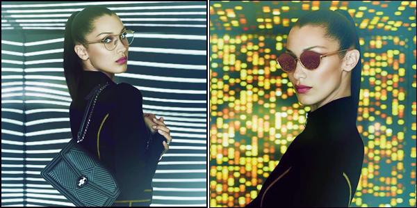 - ●  Découvrez des clichés de Bella Hadid pour la collection « B.ZERO1 » pour la marque Bulgari ! -