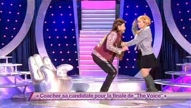Sandra aurait pu être The Voice!!! (2012)