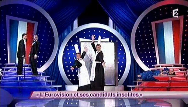 Pour l'eurovision 2013, on enverra les Kicékafessa! (2012)