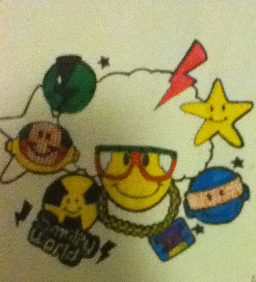 "dessin ""smiley world"""