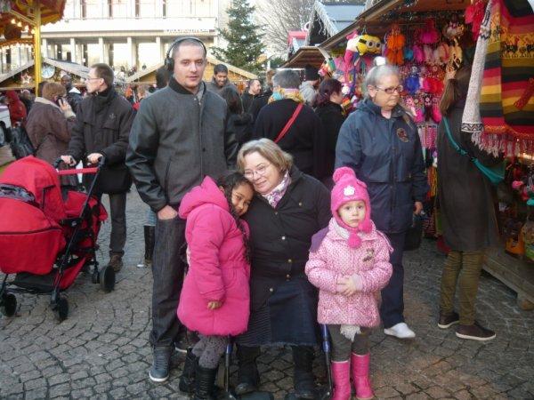 marché de noël 2014 à Brest