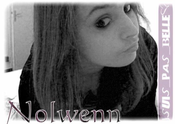Nolwenn, 14 αns, Irlαndαise, Pαrisienne, Bretonne et je l'αime.