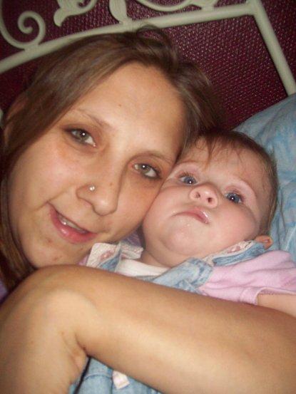 moi et ma 2eme fille charline