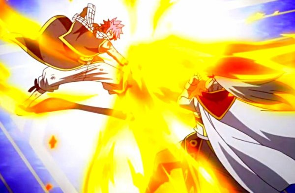 Natsu Vs Future Rogue (Images)