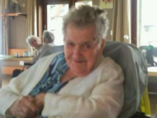 Mon arrière grand mère en 2009