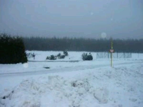Libramont en 2009 2 mètre 50 de neige