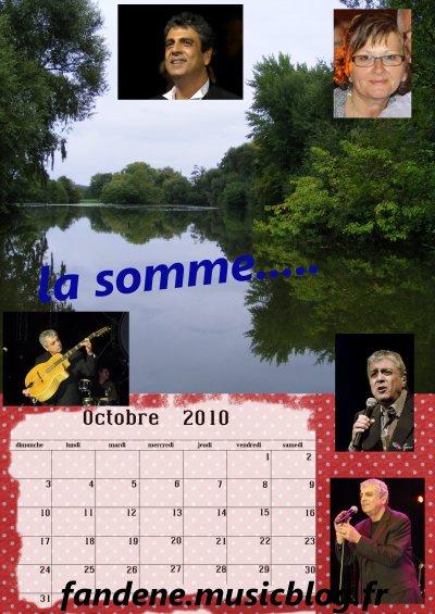 le mois d'octobre....