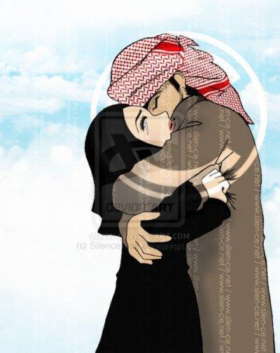 Aime la personne ne Franchit pas la tentation, car N'oublie pas Allah te regarde.