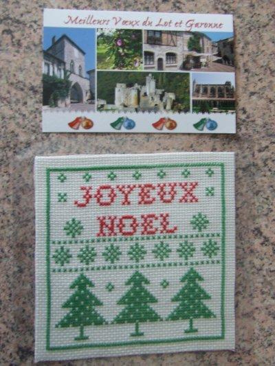 ECHANGE CARTES DE VOEUX 2010/2011 - RECU DE CRICRI