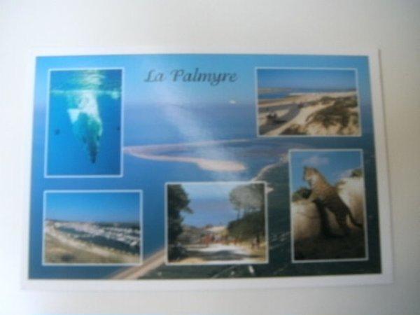 Carte postale reçue de Nadia