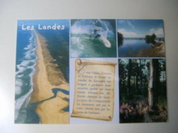 Carte postale reçue d'Aurélie