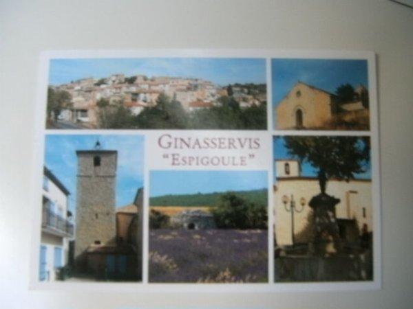 Carte postale reçue de ma tata Annie