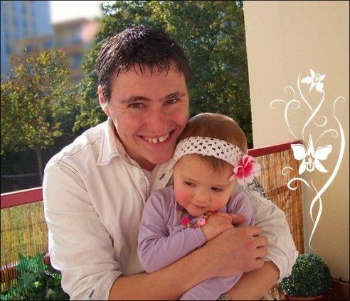 Malory & son papa le 22 Octobre