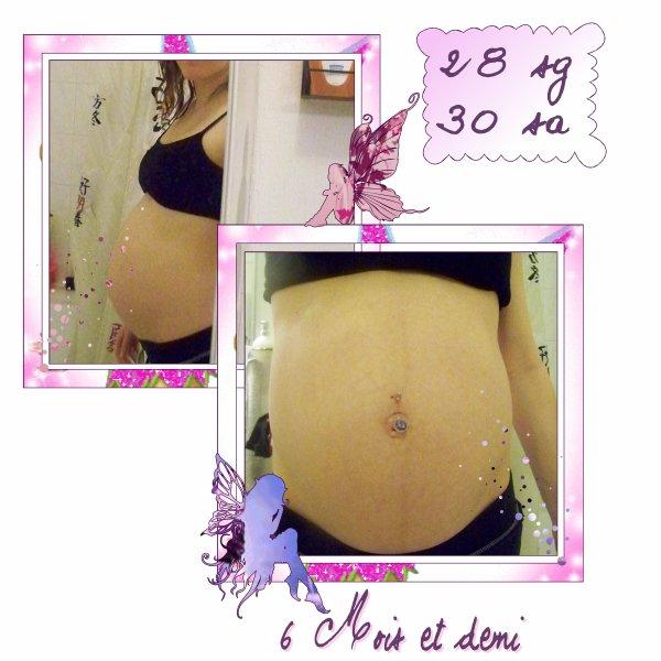 28 semaines de grossesse