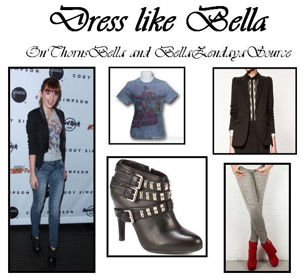 Mon premier dress like bella avec BellaZendayaSource ! Vous aimez ?!