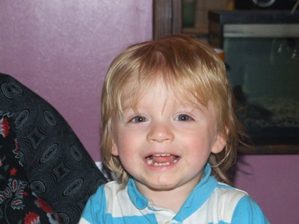 Mon fils Roman 21 mois