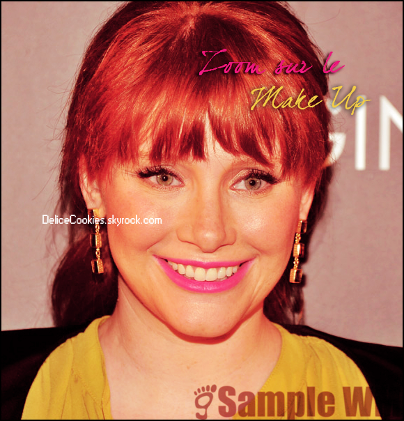 """17.11.2011 Bryce Dallas Howard Long Live Imagination"""" Campaign Screening Of """"When You Find Me"""""""