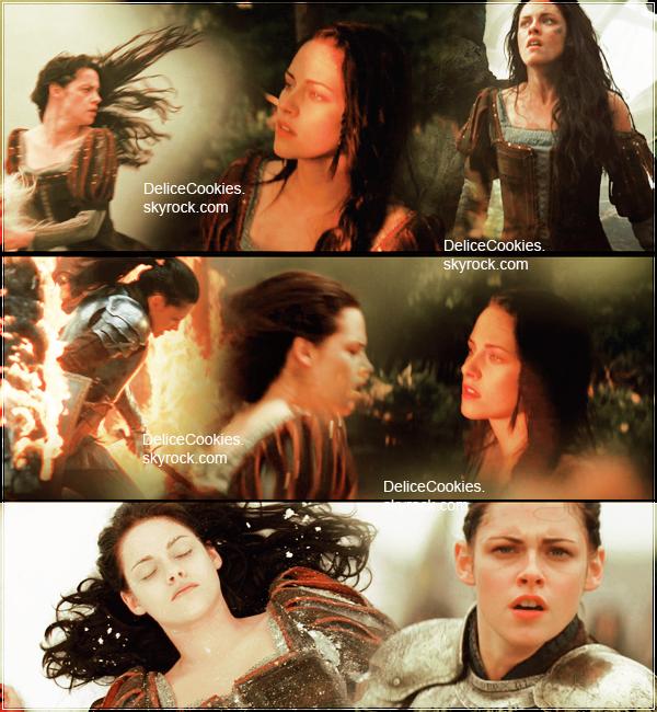 25.11.2011 ♦ Kristen Stewart Snow White and the Huntsman Trailer #1 + News Stills Breaking Dawn ♦