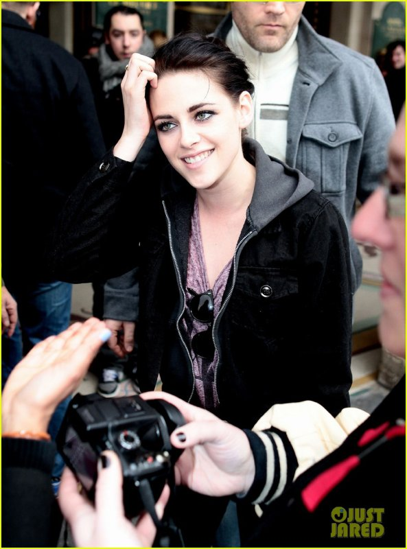 Kristen Stewart à Paris pour un photoshoot de Vanity Fair