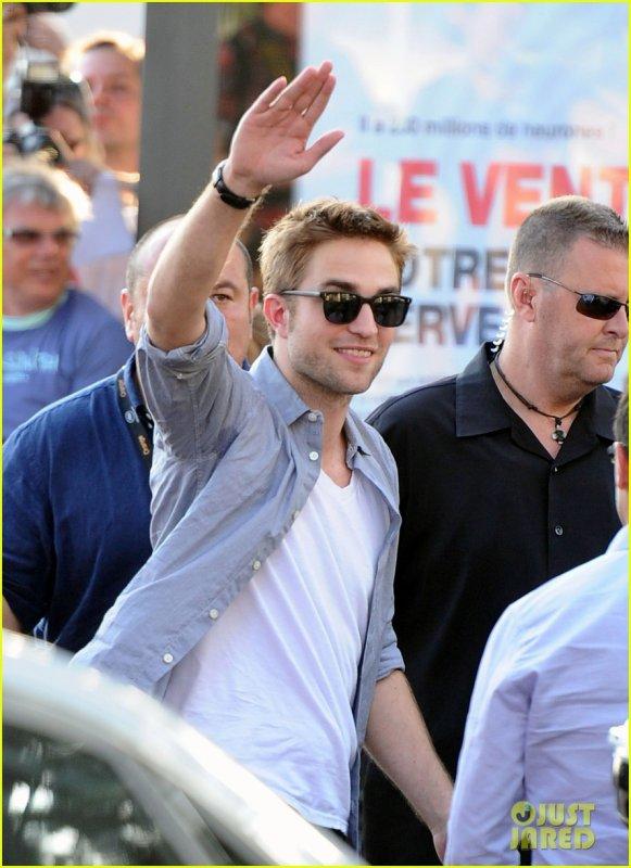 Robert Pattinson au Grand Journal