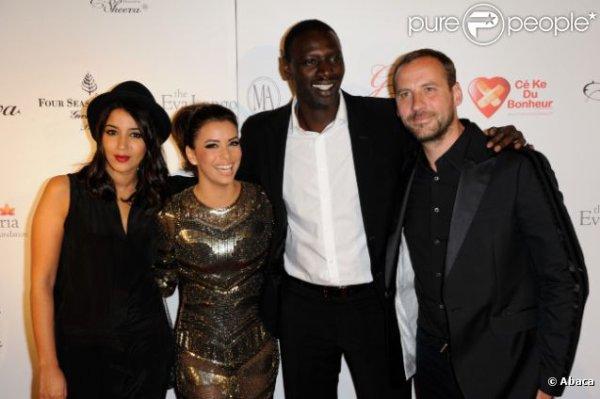 Gala CEKEDUBONHEUR d'Eva Longoria à Paris, le 28-05-2012