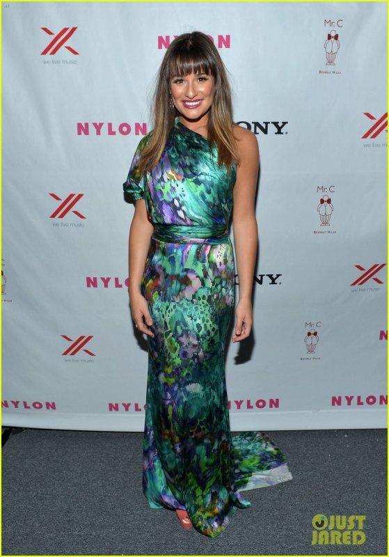 Alexis Bledel & Lucy Hale & Lea Michele: 'Nylon' TV Issue Launch Party, le 15-09-2012