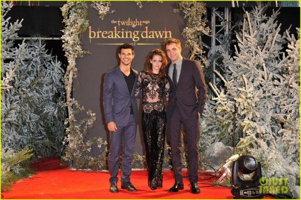 Breaking-Dawn partie 2: Avant-première à Londres, le 14-11-12
