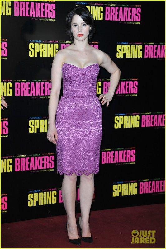 Avant-première de 'Spring Breakers' à Paries, le 18-02-2013