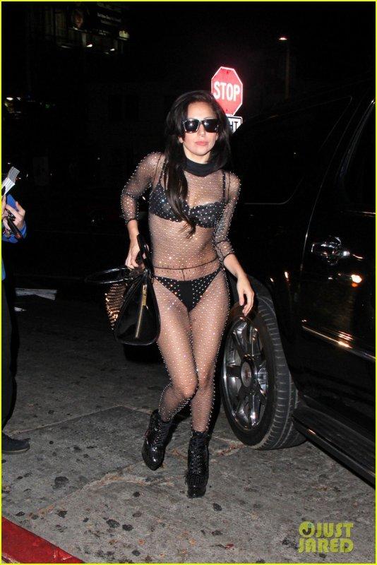 Lady Gaga (ces derniers jours...)