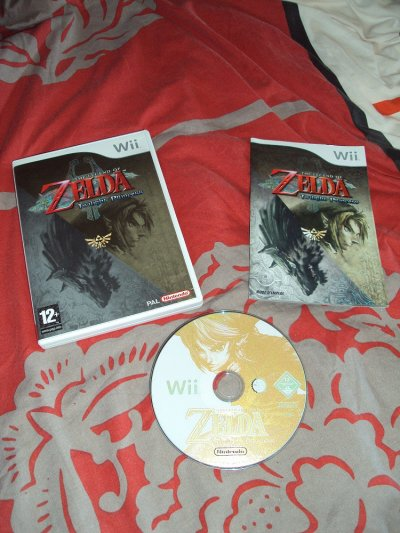 The legend Of Zelda Twilight Princess sur Wii