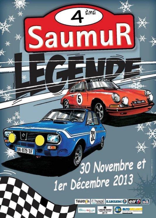 4eme Rallye saumur legende 2013
