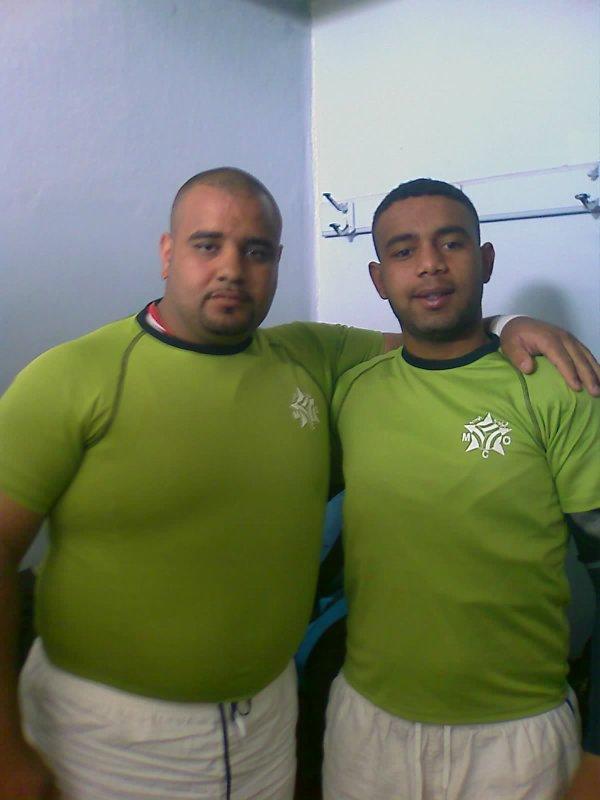 toufik et moi