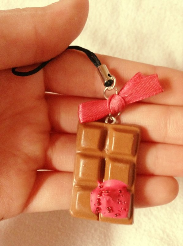 Strap tablette de chocolat