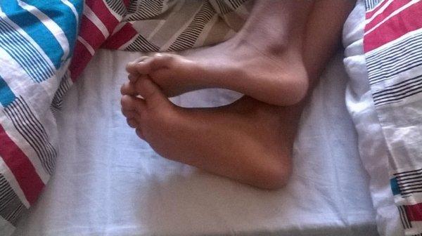 Les pieds de ma cousine