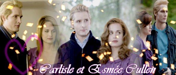 Carlisle et Esmée Cullen