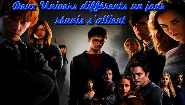 Fan Fiction De Harry-Potter-Twilight-66 Deux Univers différents un jour réunis s'allient  __________   Prologue